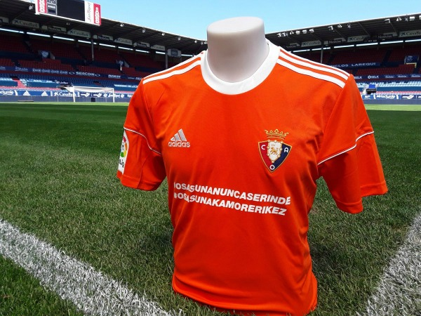 Osasuna New Kit vs Barcelona 2017