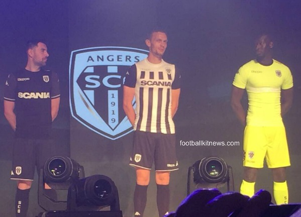 667990fe03c New Angers Jersey 2017-2018- Kappa Angers SCO Shirts 2017-18 Home ...