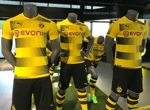 47a10780d A victory for Dortmund will seal third spot for them behind Bayern and RB  Leipzig. New BVB Jersey 2017 2018