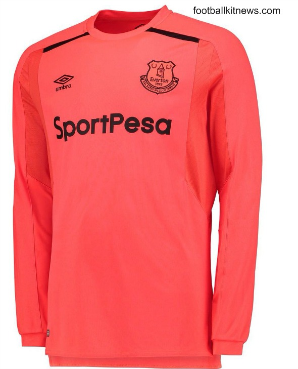 size 40 a425e 448e4 New Everton Sportpesa Jersey 2017-18- EFC Umbro Home Kit 17 ...