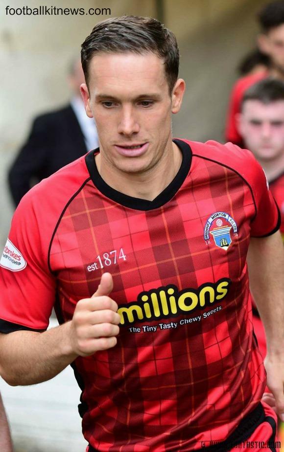 Greenock Morton Away Top 2017 18