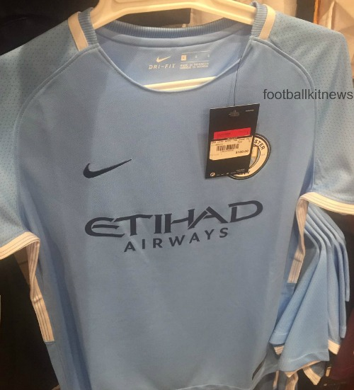 Man City Leaked Home Shirt 2017 18
