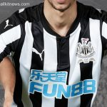 New NUFC Strip 17-18 | Newcastle United 125th Anniversary Kit with Fun88 Sponsor