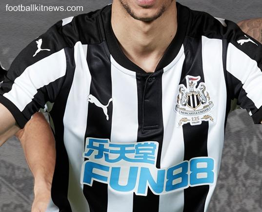 d9de4016c15e New NUFC Strip 17-18 | Newcastle United 125th Anniversary Kit with Fun88  Sponsor