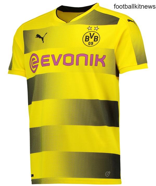 quality design 9085b 38b8c New BVB Jersey 2017-2018 | Puma Borussia Dortmund Home Kit ...
