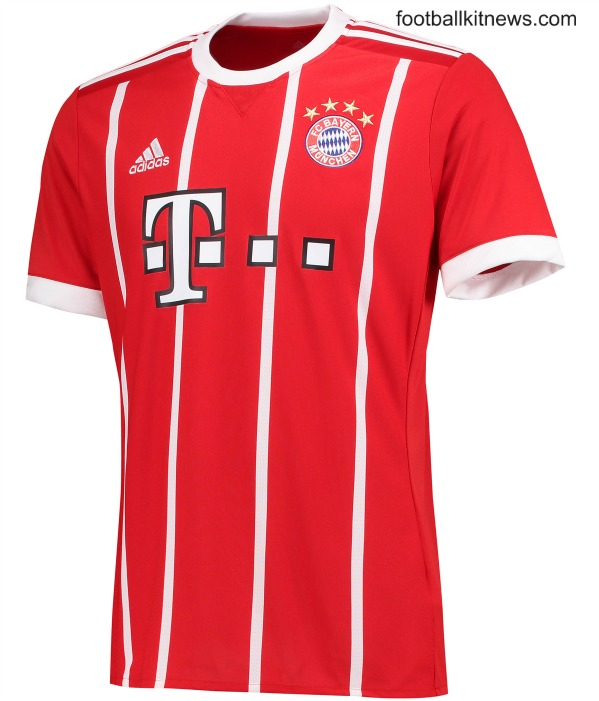 official photos f2fca a9d0f New Bayern Munich Home Kit 17-18 | Adidas FC Bayern Munchen ...