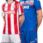 New Stoke City Kit 2017/18- SCFC Macron Shirt 17-18 Home & Away