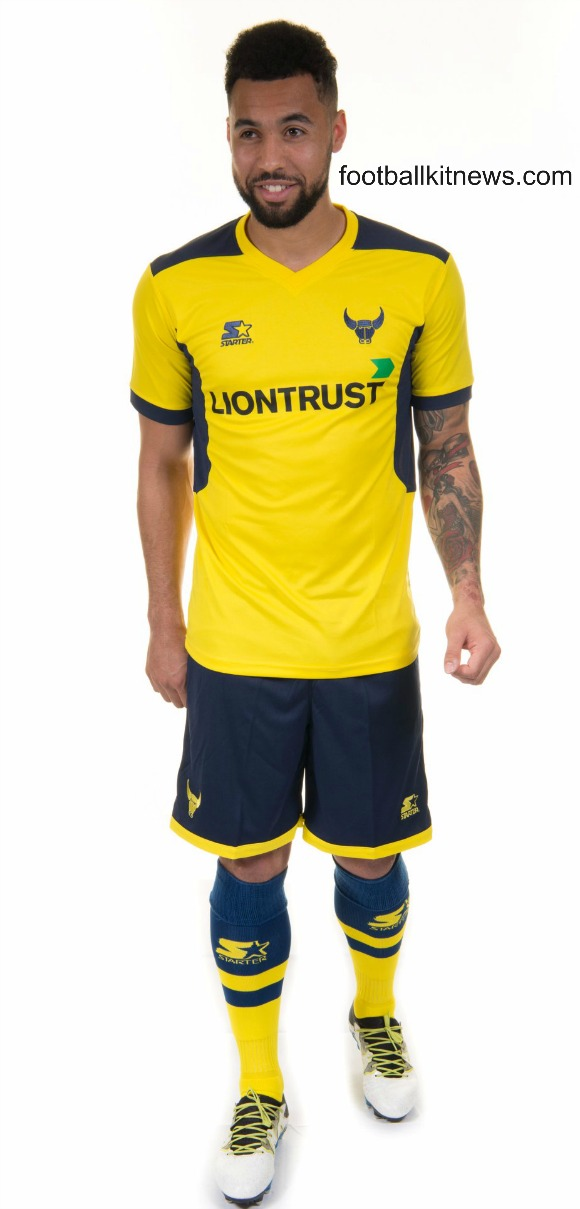 Oxford United Home Kit 2017 18