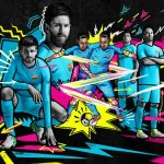 New Barcelona Away Kit 2017-2018 | Blue FCB Jersey 17-18 by Nike