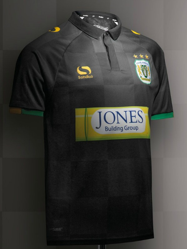 Black Yeovil Town Shirt 2017 2018