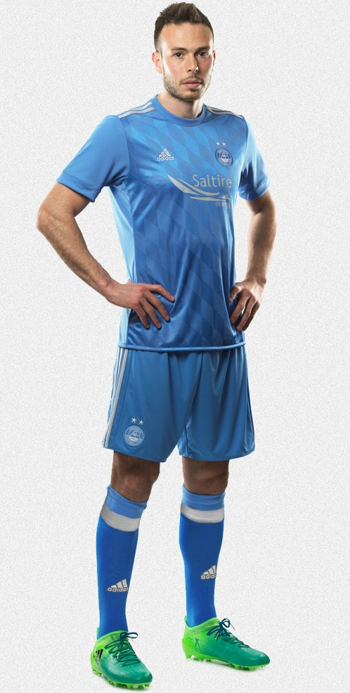 Blue Aberdeen Away Kit 2017 2018