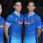 Blue Grimsby Town Away Kit 2017-18 by Errea