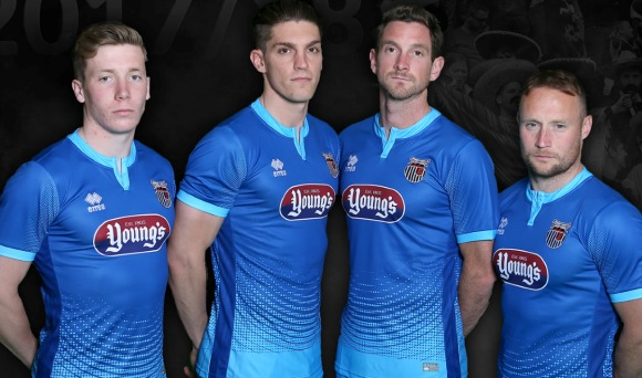Blue Grimsby Town Kit 17 18