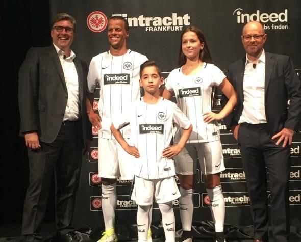 Eintracht Frankfurt Indeed Jersey 2017 2018