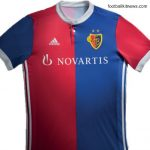 New FC Basel Jersey 2017-2018- Adidas Basel Home Shirt 17-18