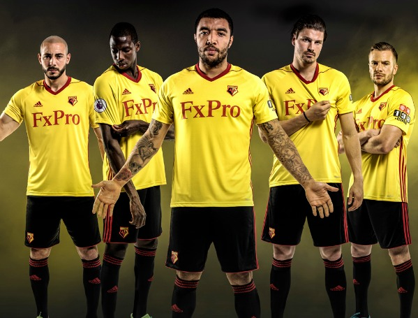 FXPro Watford Shirt 2017 2018
