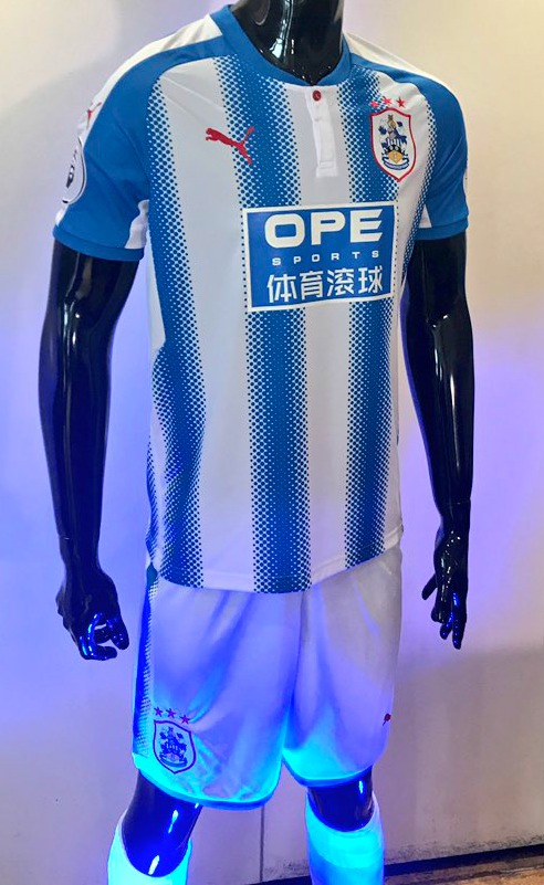Huddersfield Town First Premier League Kit 2017 18