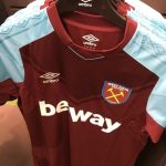 Leaked WHUFC Home Shirt 2017-2018