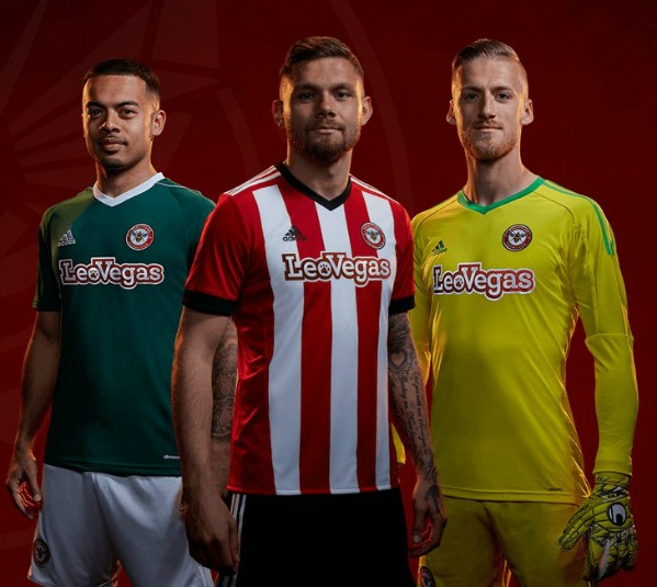 LeoVegas Brentford Kit 2017 18