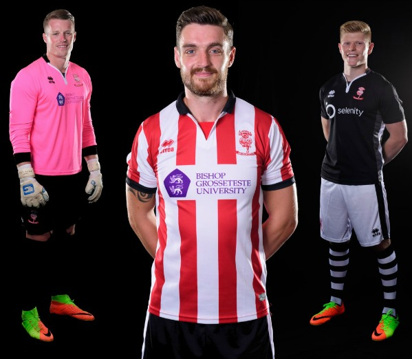 Lincoln City FC New Shirt 2017-18