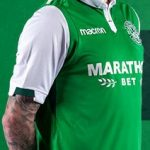 New Hibs Strip 17-18 | Hibernian FC Macron Home & Away Tops 2017-2018