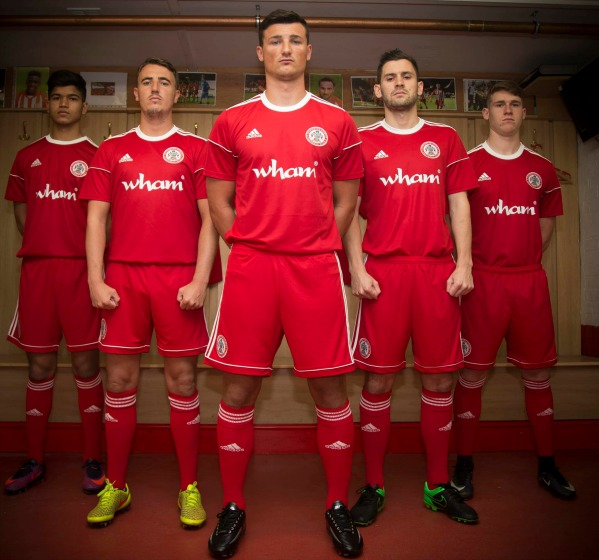 New Accrington Stanley Kit 2017 18