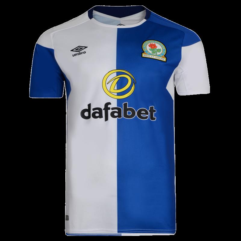 New Blackburn Rovers Shirt 2017-2018 | Umbro BRFC Home Kit