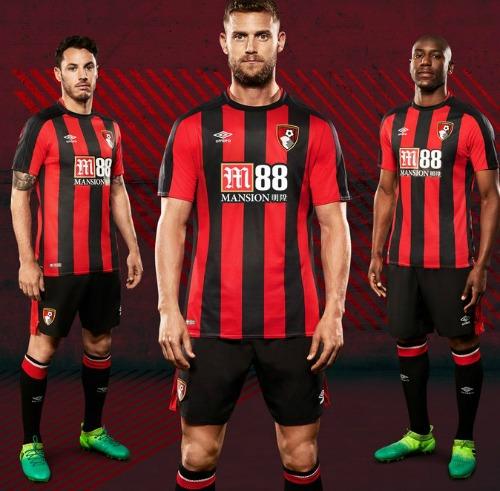New Bournemouth Kit 17 18