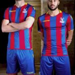 New CPFC Jersey 2017-2018- Macron Crystal Palace Home Shirt 17-18 with 5 Boroughs