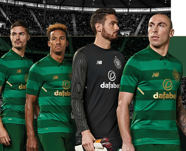 788f42513 New Celtic Away Kit 17-18 | Green Celtic Alternate Top by New Balance