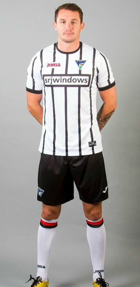 New Dunfermline Strip 2017 18