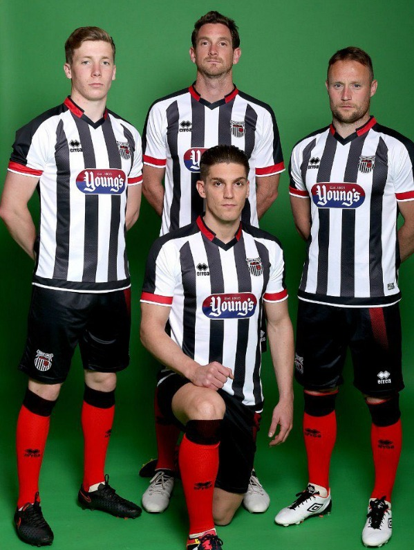 New Grimsby Town Kit 2017 18
