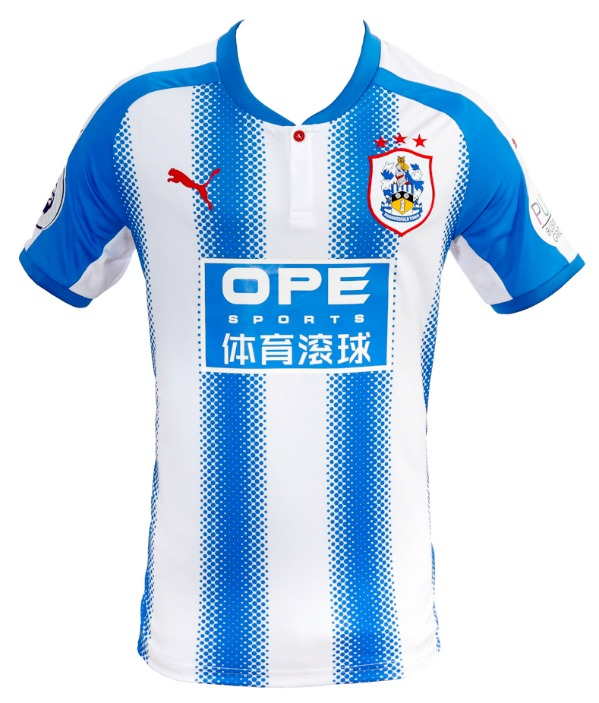 New HTAFC Premier League Shirt 2017 2018