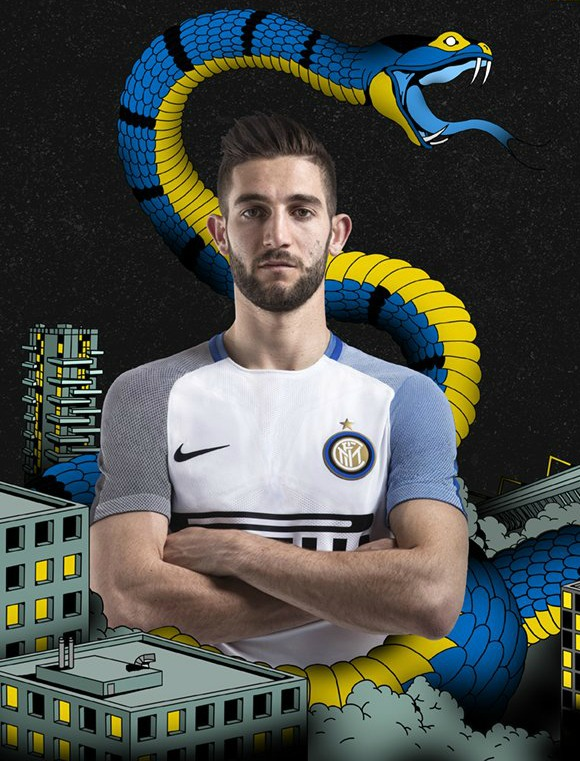 New Inter Milan Away Jersey 2017 18