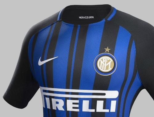best website ad49e 24086 New Inter Milan Strip 17-18 | Nike Inter Jersey 2017-2018 ...