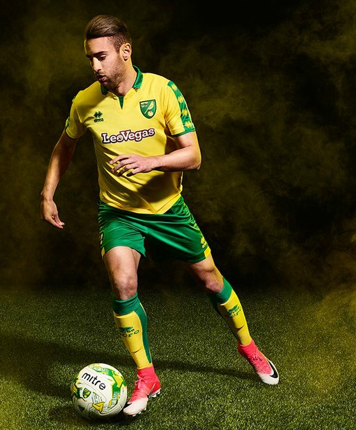 New Norwich City Shirt 17 18