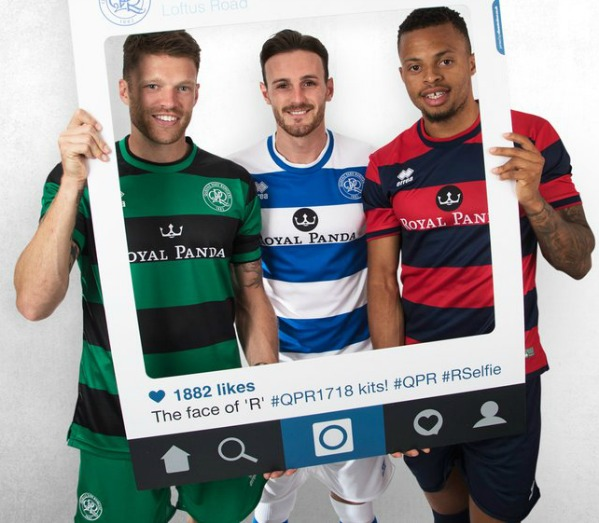 quality design 26ad7 0d441 New QPR Errea Jersey 2017-2018 | Home, Away & Third Kits 17 ...