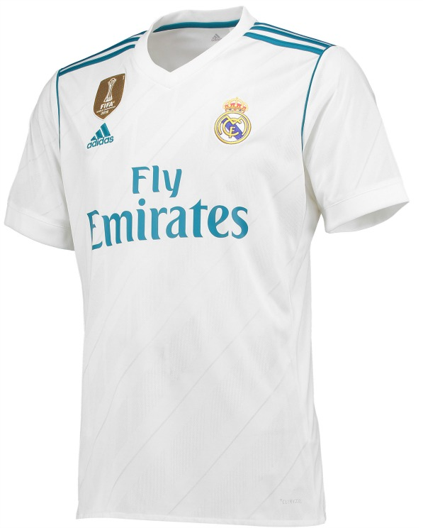 new product 1c649 e42f0 New Real Madrid Strips 2017-2018 by Adidas | Home & Away ...