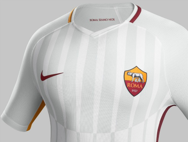 New Roma Away Shirt 2017 2018