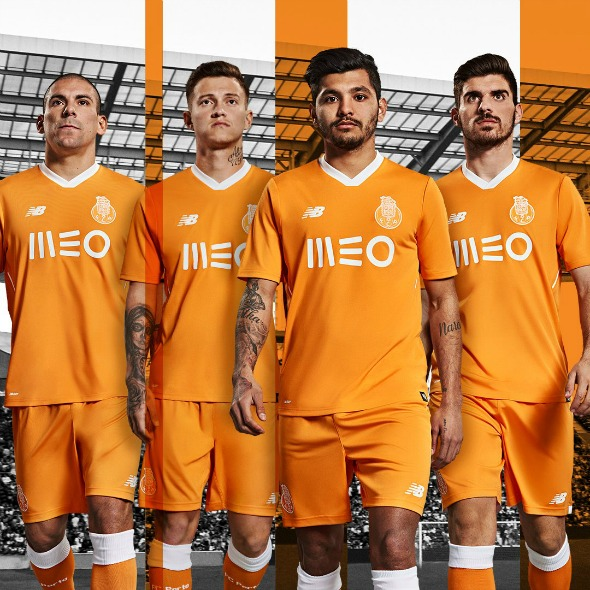 more photos 64790 9c98d Orange FC Porto Away Shirt 2017-2018 | Football Kit News
