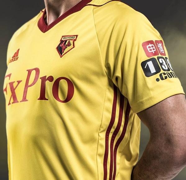 dea1cf13c New Watford FC Adidas Jersey 2017-2018