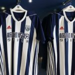 New WBA Palm Eco-Town Jersey 2017-2018 | Adidas West Brom Home Shirt 17-18