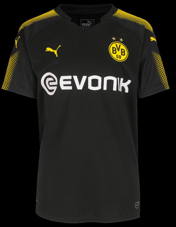 New Borussia Dortmund Alternate Jersey 17 18 Bvb Away And Third Top 2017 18 Football Kit News