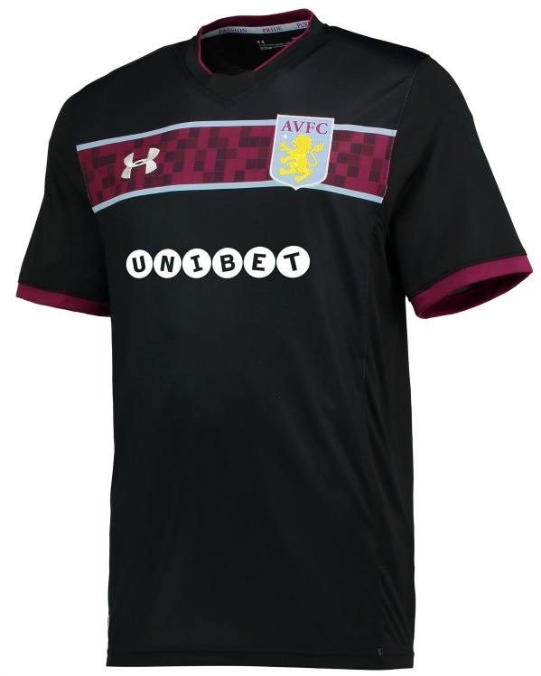 New AVFC Kits 2017-2018 | Aston Villa Under Armour Home ...