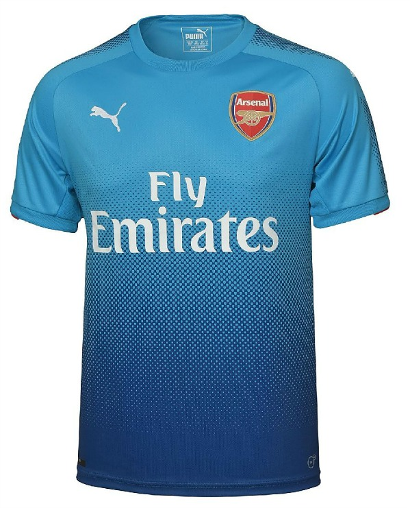 Blue Arsenal Jersey 2017 2018
