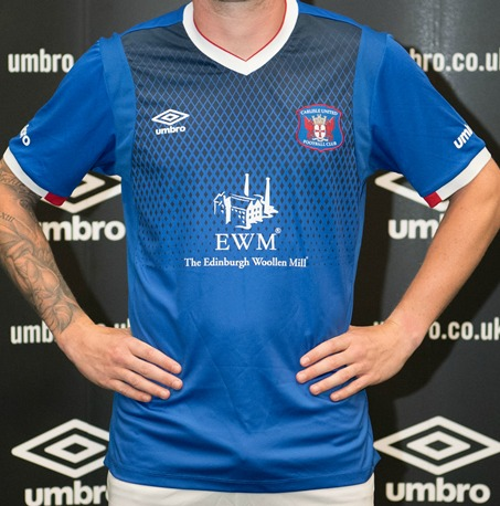 Carlisle United Umbro Shirt 2017 2018