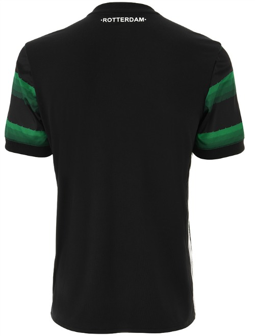 Feyenoord Away Shirt 17 18 Back