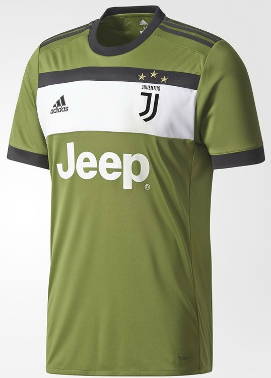 green juventus shirt 2017 2018 new juve 3rd jersey 17 18. Black Bedroom Furniture Sets. Home Design Ideas