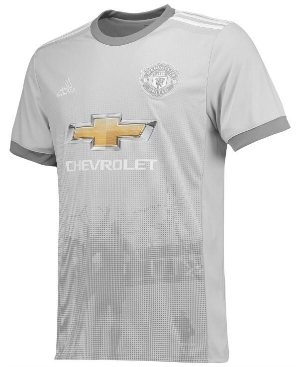 best sneakers 062b0 16b2c Grey Man Utd Shirt 2017-2018 | New Manchester United Third ...