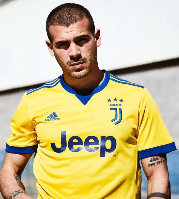 d3c7c403d1b Yellow Juventus Away Strip 2017-2018 by Adidas